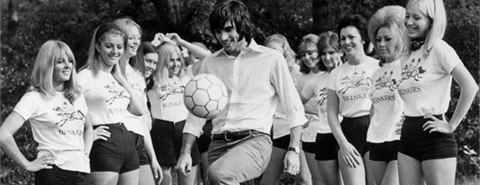 """""""Le Cinquième Beatles"""": George Best, pop star du football"""