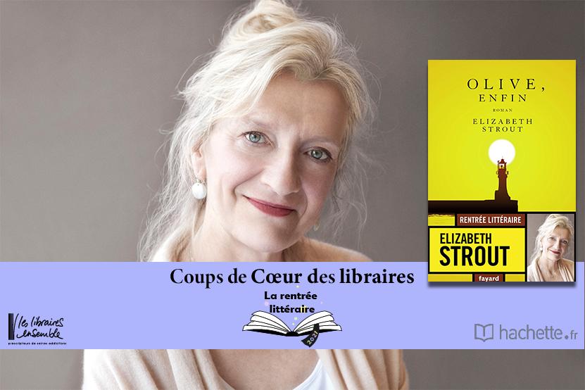 """""""Olive, enfin"""" d'Elisabeth Strout : coup de cœur de Vanessa Postec, Librairie Attitude à Albi"""