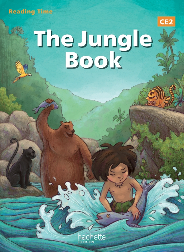 Reading Time The Jungle Book CE2 - Livre élève - Edition 2013