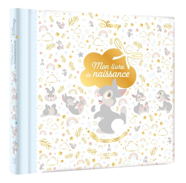 DISNEY CLASSIQUES - Mon livre de naissance