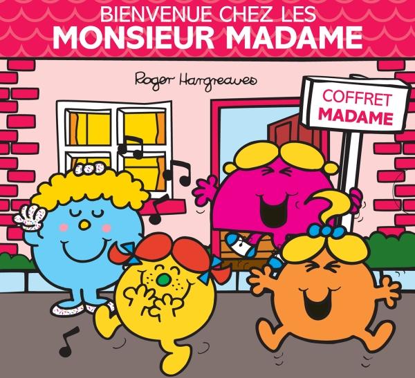 Monsieur Madame -  Bienvenue chez les Monsieur Madame coffret Madame