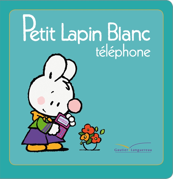 Titre TV - Petit Lapin Blanc téléphone