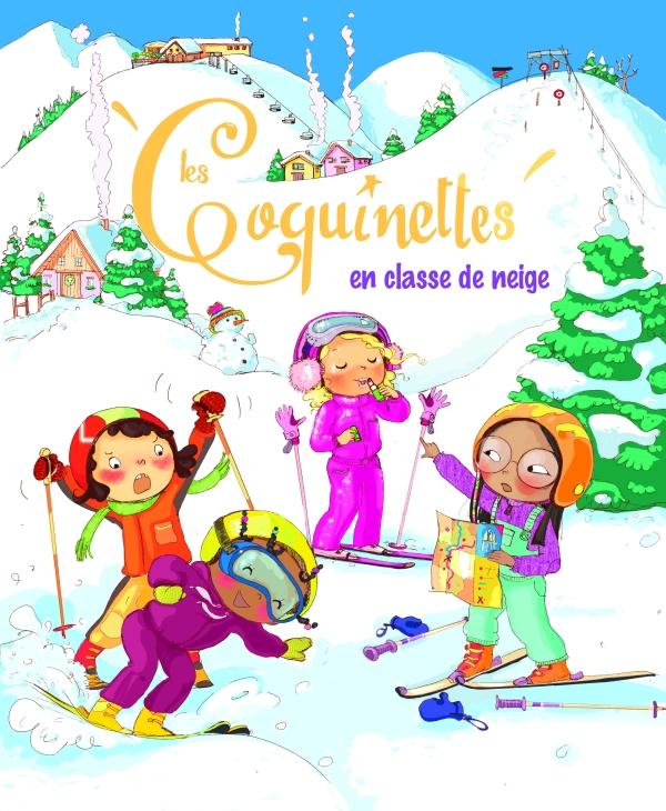 Les coquinettes en classe de neige