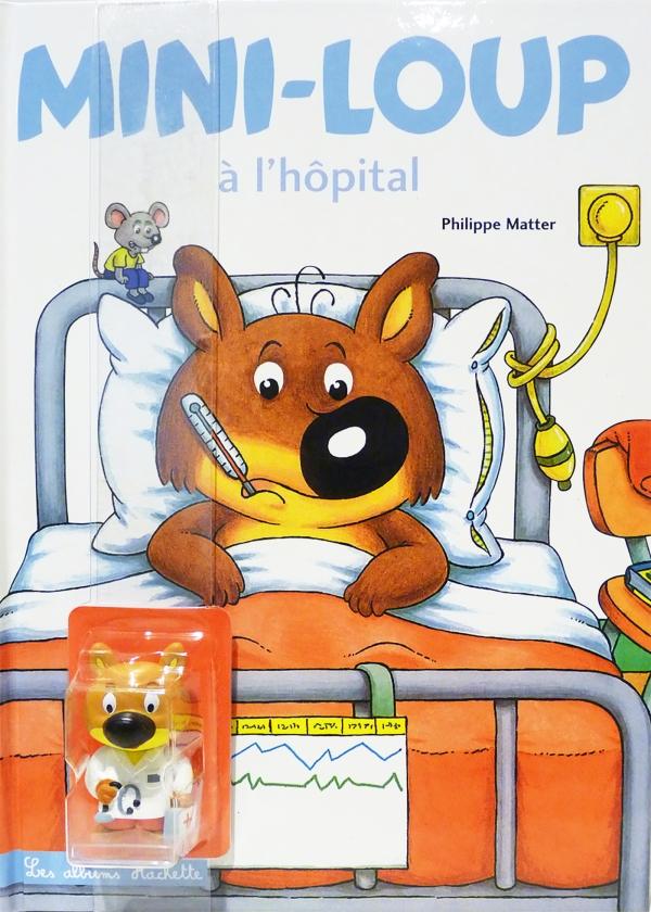 Mini-Loup à l'hôpital + 1 figurine