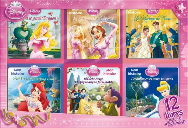 Princesses, Coffret 12 livres
