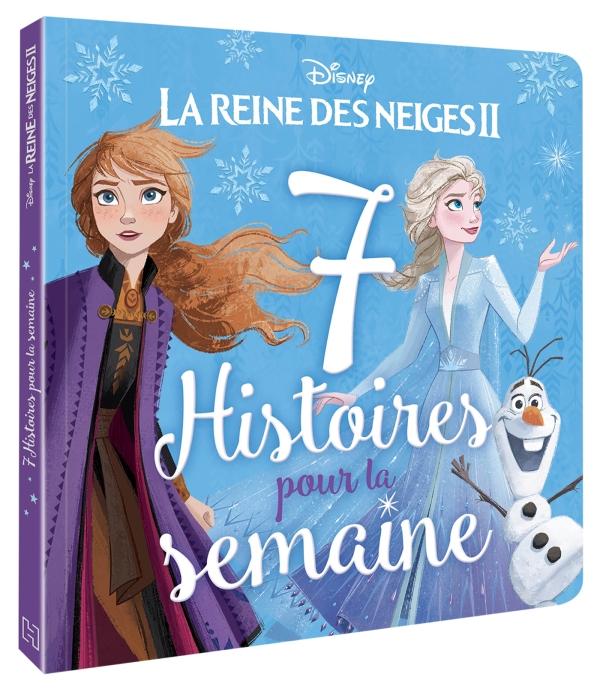LA REINE DES NEIGES 2 - 7 histoires pour la semaine - Disney