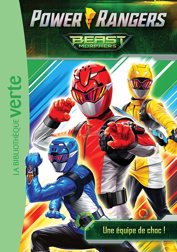 Power Rangers 01 - Une équipe de choc !