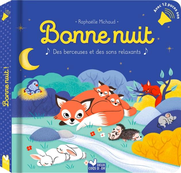Bonne nuit - livre avec puces sonores