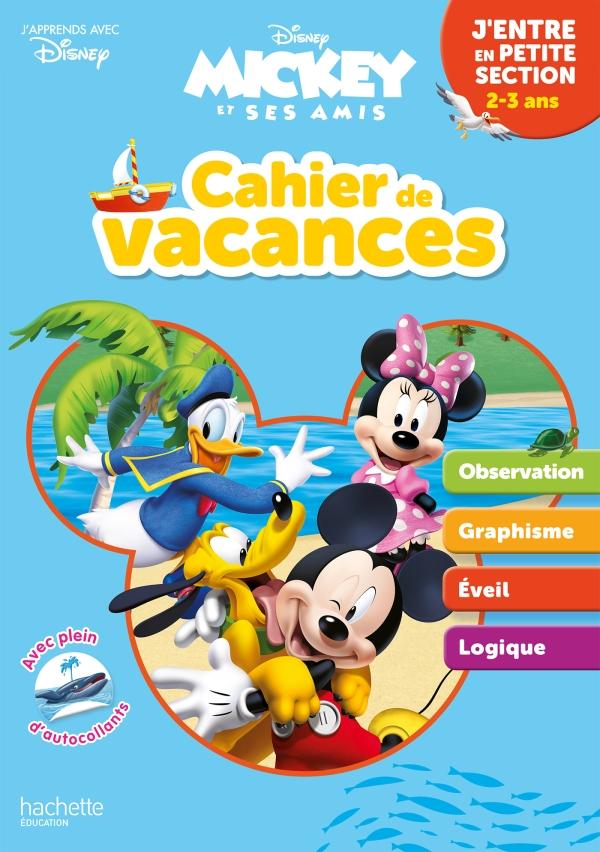 Disney - Mickey - J'entre en Petite Section - Cahier de vacances 2021