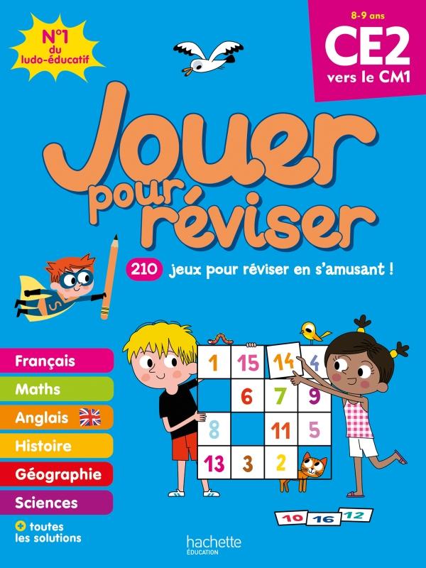 Jouer pour réviser - Du CE2 au CM1 - Cahier de vacances 2021