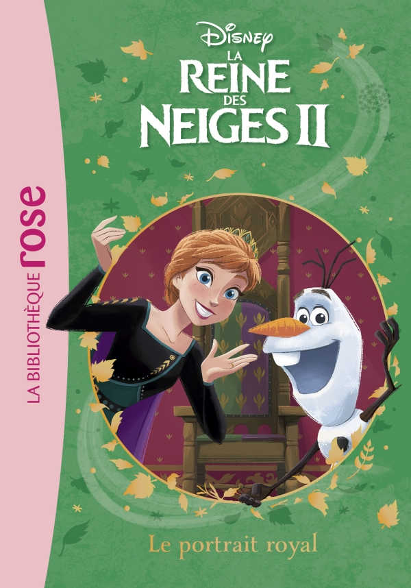 La Reine des Neiges 2 09 - Le portrait royal