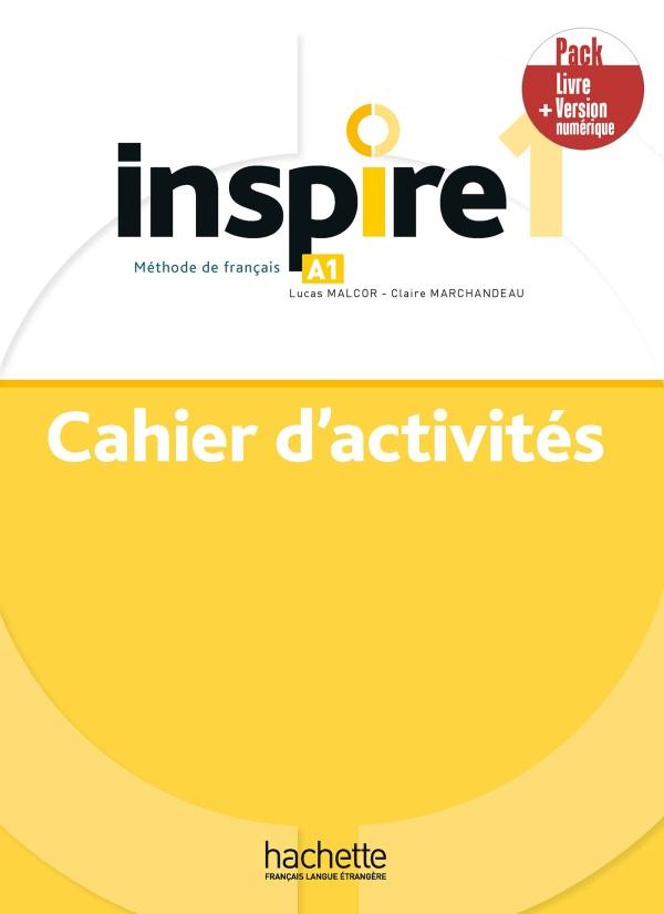 Inspire 1 - Pack Cahier + Version numérique