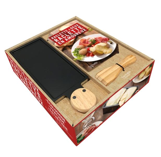 Coffret Raclette à 2, raclette en amoureux