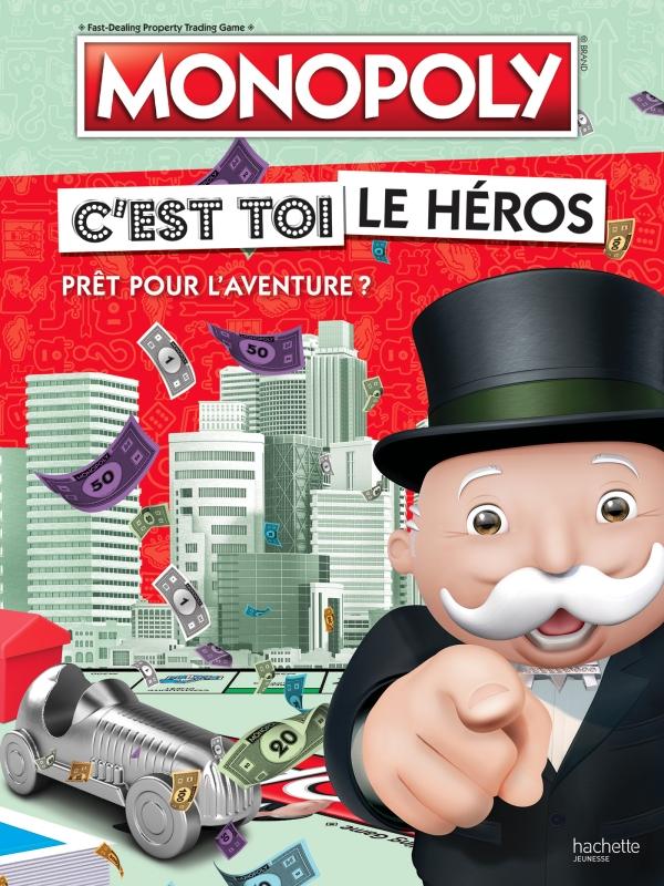 Hasbro gaming / Monopoly-C'est toi le héros