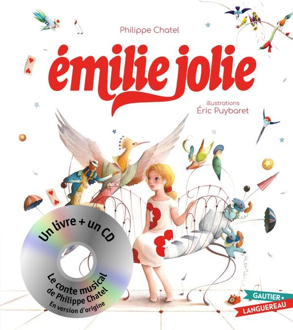 Émilie Jolie - Livre CD petit format