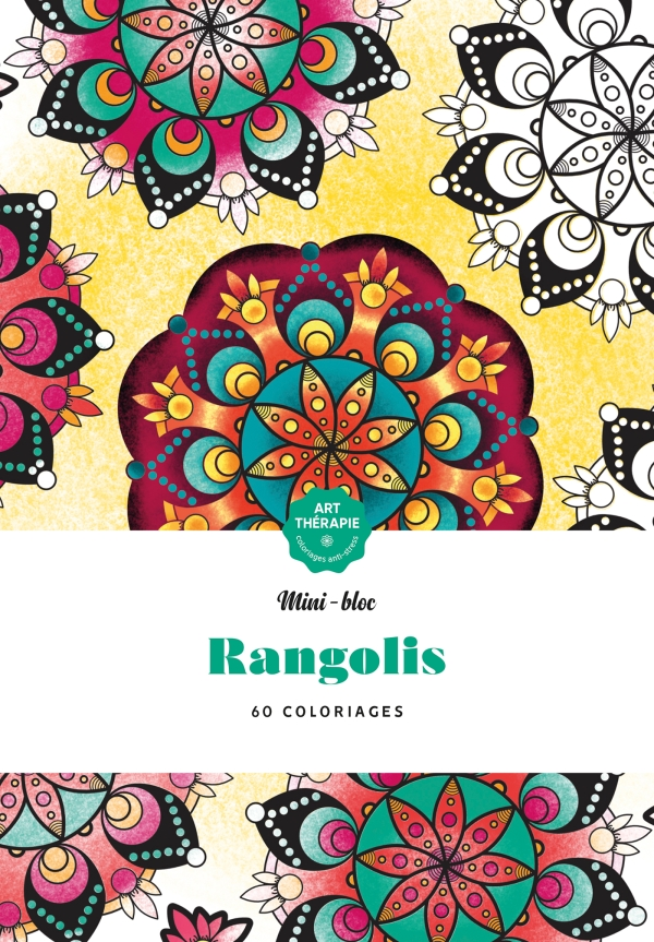 Mini-bloc d'Art-thérapie Rangolis