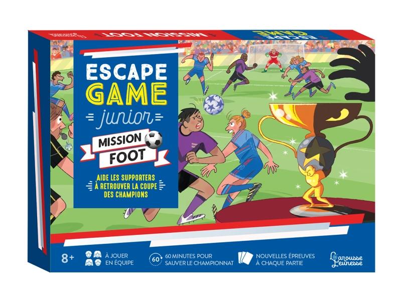 Escape Game Junior - Mission foot - Aide les supporters à retrouver la coupe des champions