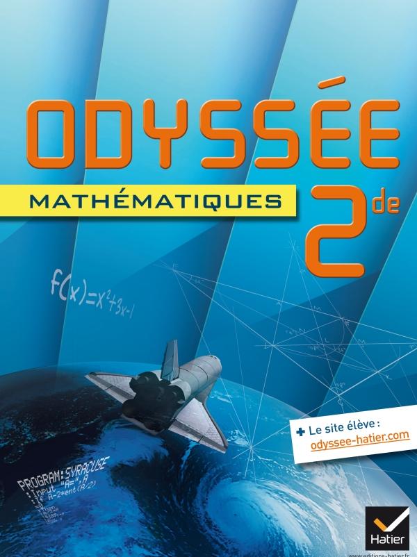 Odyssée Mathématiques 2de éd. 2014 - Manuel de l'élève (format compact)