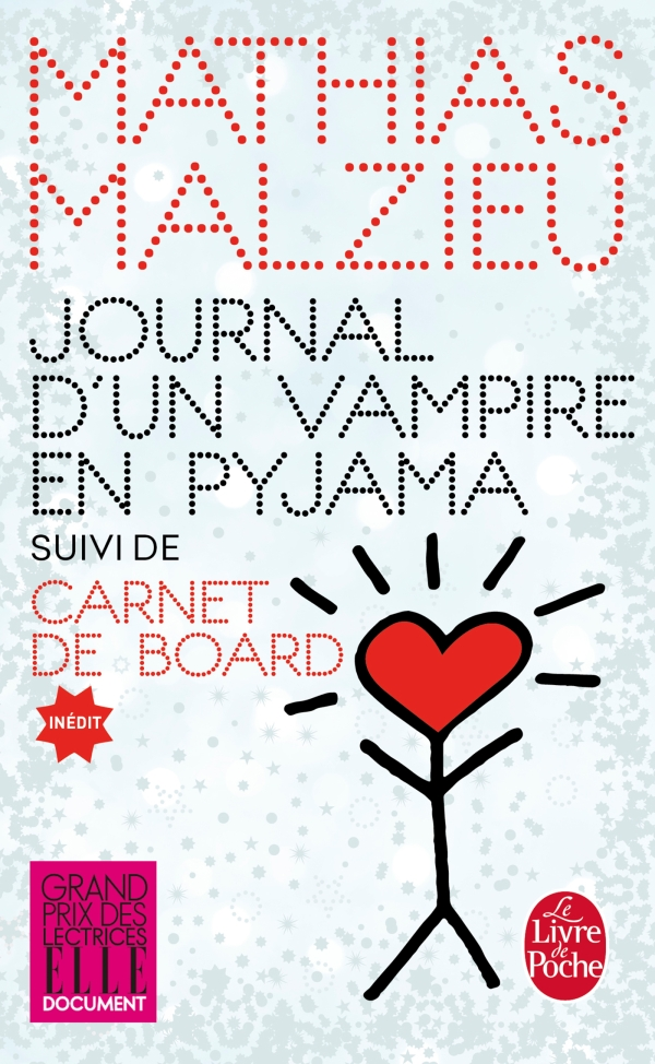 Journal d'un vampire en pyjama + Carnet de board