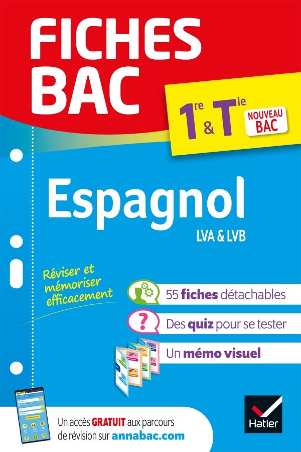 Fiches bac Espagnol 1re/Tle (tronc commun)