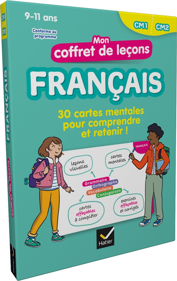 Mon coffret de leçons français CM1-CM2