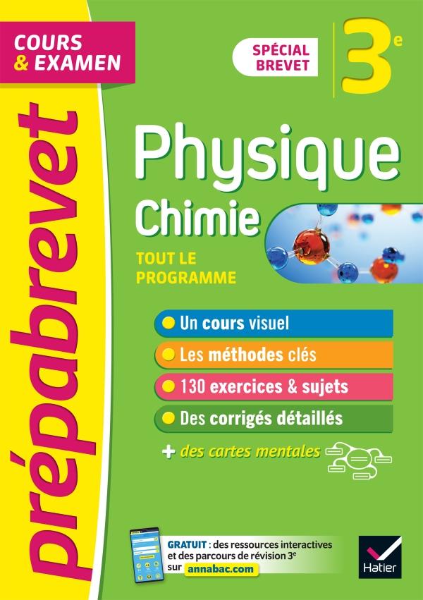 Prépabrevet Physique-Chimie 3e Brevet 2022