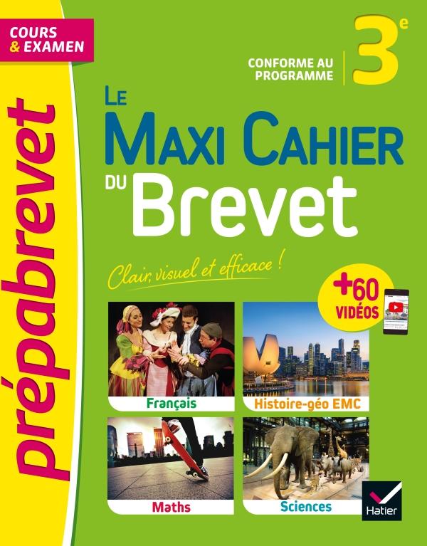 Le Maxi Cahier du Brevet - Prépabrevet 2022