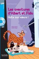 Albert et Folio : Halte aux voleurs ! + CD Audio