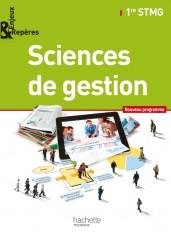 Enjeux et Repères Sciences de gestion 1re STMG - Livre élève Grand format - Ed. 2012