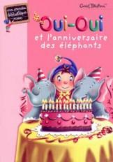 Oui-Oui et l'anniversaire des éléphants