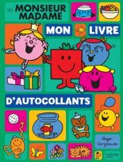 Monsieur Madame-Mon livre d'autocollants