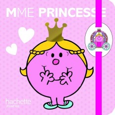 Carnet à élastique avec poupée Madame Princesse