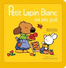 Petit Lapin Blanc est très poli