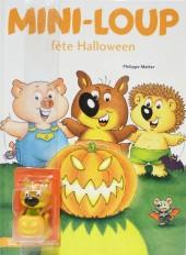 Mini-Loup fête Halloween + figurine