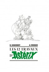 ASTERIX - LES 12 TRAVAUX D'ASTERIX - ARTBOOK