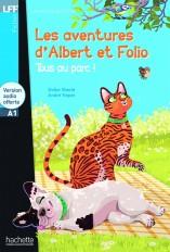 Albert et Folio : Tous au parc + CD audio (A1)