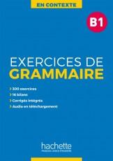 En Contexte : Exercices de grammaire B1 + audio MP3 + corrigés