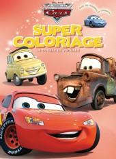 La course de voitures, SUPER COLORIAGE