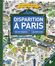 Disparition à Paris - livre avec carte