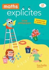 Maths Explicites CP - Guide pédagogique + Clé USB - Edition 2019
