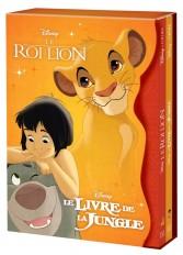 DISNEY CLASSIQUES - Coffret Disney Cinéma - Le Roi Lion et Le Livre de la Jungle