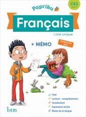 Paprika Français CE2 - Edition France - Livre élève - Ed. 2019