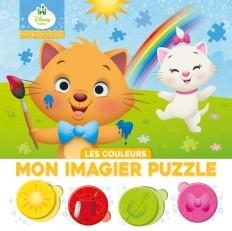 DISNEY BABY - Mes Premiers Pas - Mon Imagier Puzzle - Les couleurs