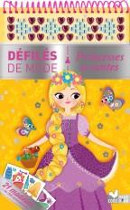 Princesses de contes - bloc à spirale