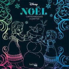 Cartes magiques à gratter Disney Noël