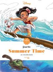 Grands Blocs coloriages Disney Summer time