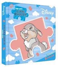 DISNEY - Mon petit livre puzzle - 5 puzzles 9 pièces