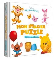 DISNEY BABY - Mes Premiers Puzzles - Mon imagier puzzle Winnie et ses amis