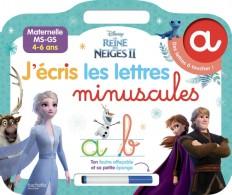 DISNEY REINE DES NEIGES 2 - Ardoise J'écris les lettres minuscules (4-6 ans)