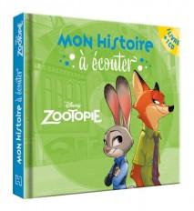 ZOOTOPIE - Mon histoire à écouter - Livre CD - Disney